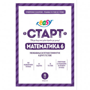 """EASY START"" – MATEMATIKA 6"