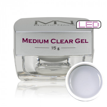 MN UV/LED  Medium Clear Gel za izlivanje noktiju (gradivni)