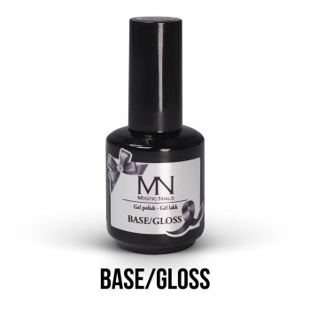 MN Gel Lak - Base/Gloss 12 ml (baza i završni sjaj 2u1)