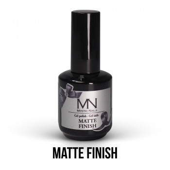 MN Matte Finish Gel-lak 12 ml (završni mat gel-lak)